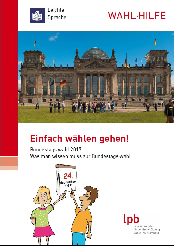 Cover Flyer Bundestagswahl