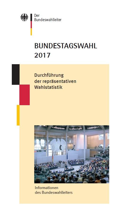 Cover Flyer repräsentative Wahlstatistik