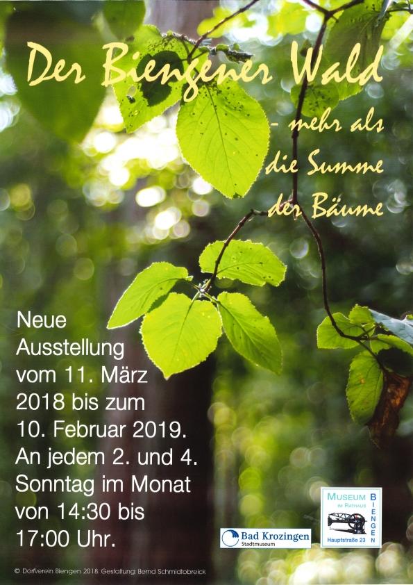 "Sonderausstellung ""Biengener Wald"""