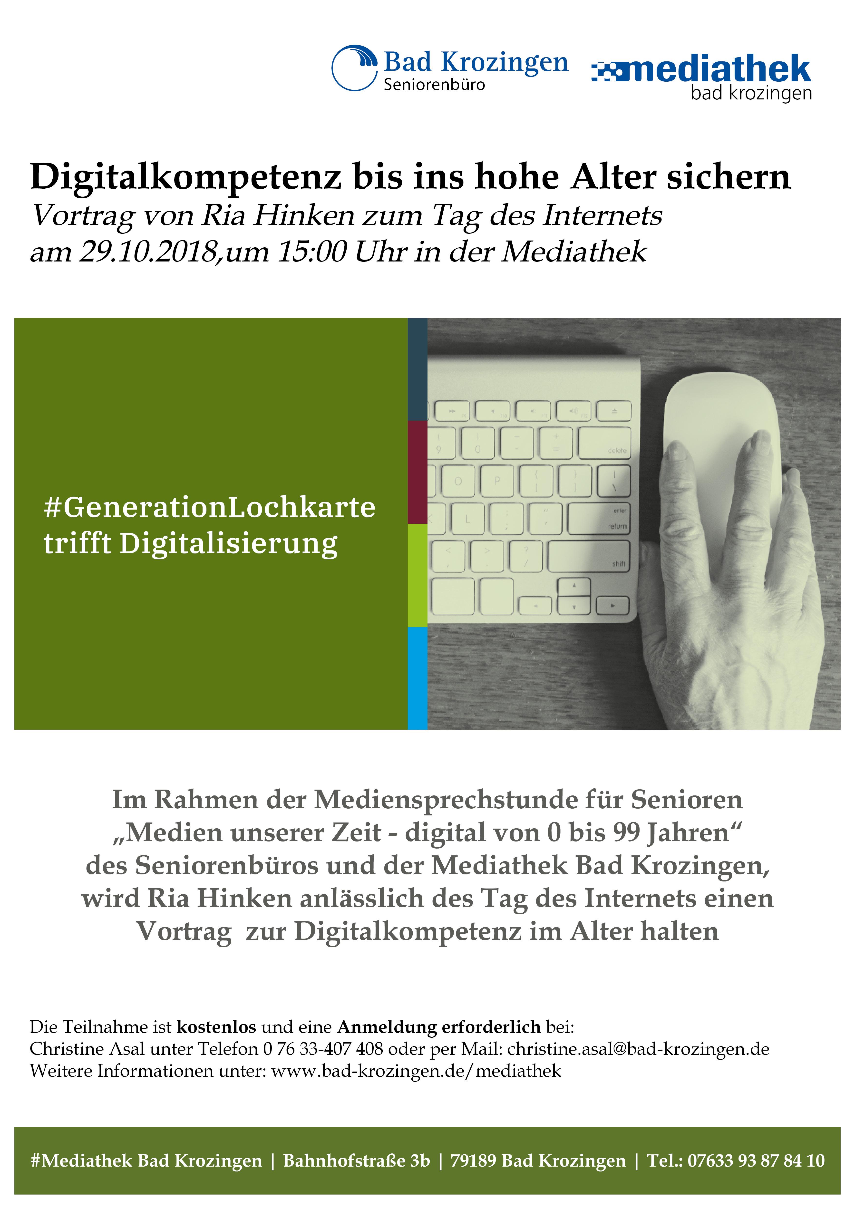 Vortrag: Digitalkompetenz bis ins hohe Alter sichern