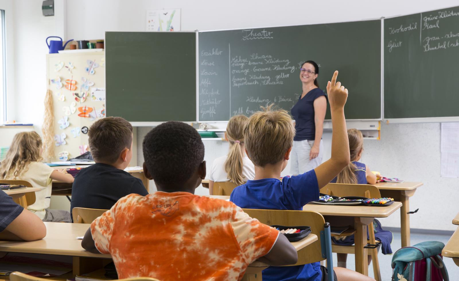 Bild von einer Schulklasse