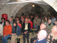 2007 Kulturvortrag im Gewölbekeller mit Archivar Weeger