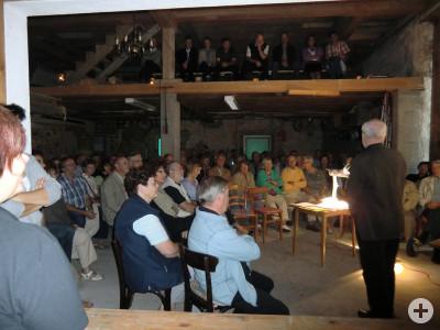 2011 Vortrag mit Prof. Dr. Kunz zur Namensgeschichte
