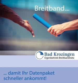 """Breitband-Plakat """"Damit Ihr Datenpaket schneller ankommt"""""""