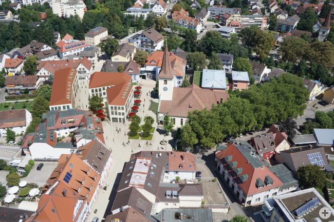 Visualisierung der Innenstadtsanierung