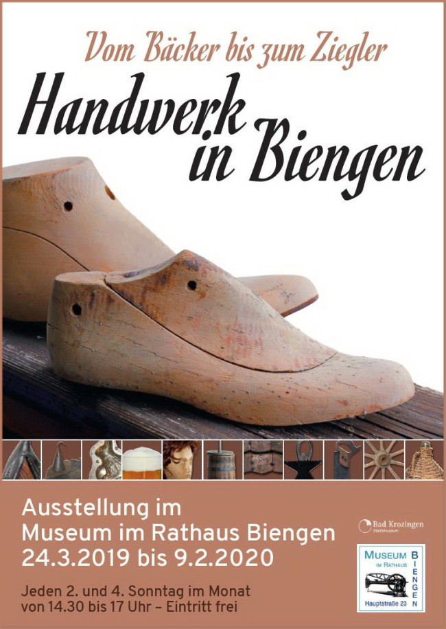 Sonderausstellung Museum im Rathaus Biengen 2019
