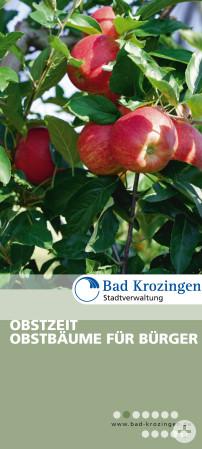 Bild vom Obstbaum-Flyer