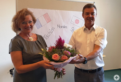 Verabschiedung Monika Steiert