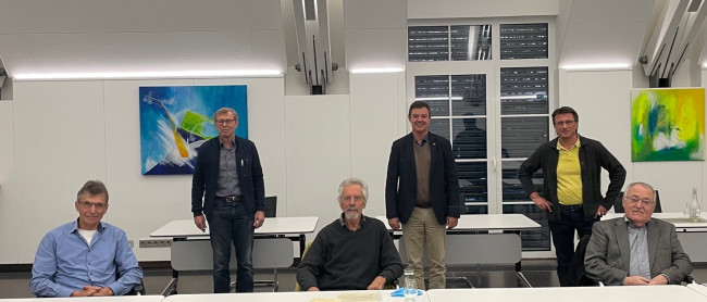 Verabschiedung der Mitglieder des Gutachterausschusses der Stadt Bad Krozingen