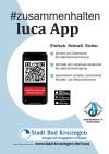 Plakat luca app A-4