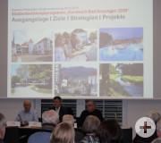 Vorstellung der Ergebnisse aus den Bürgerplanungswerkstätten