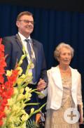 Verleihung der Ehrenbürgerwürde an Mauricette Chupin
