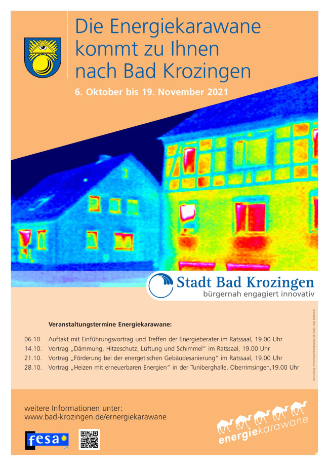 Plakat Energiekarawane 2021